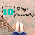 10 Things Currently - scrapbooking prompt #projectlife | mybigfathappylife.com