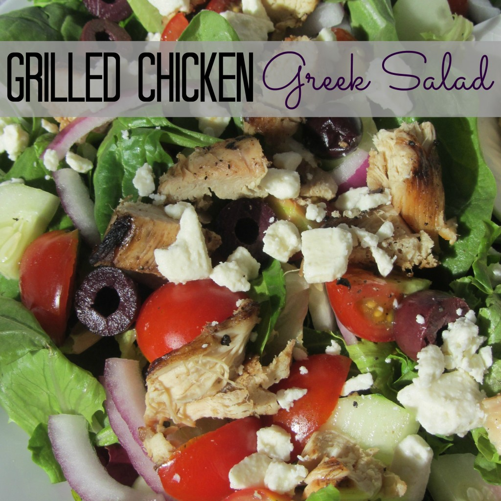 Grilled Chicken Greek Salad - Gourmet Warehouse - My Big ...