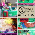5 Ways to Play with a Water Table