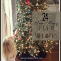 24 Non-Messy Elf on the Shelf Antics #elfontheshelfideas #elfontheshelf #christmas | mybigfathappylife.com