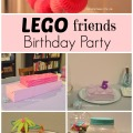Lego Friends Birthday Party | mybigfathappylife.com