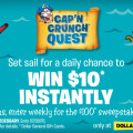 Cap'n Crunch Treasure Quest daily Instant Win game and Sweepstakes #CapnCrunchQuest #CollectiveBias #ad | mybigfathappylife.com