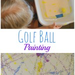 Golf Ball Painting