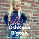 Back to School with OshKosh B'gosh + Coupon