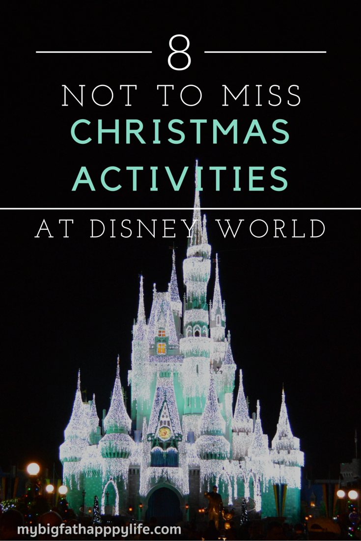 8 not to miss christmas activities at disney world my for Things not to miss in new orleans