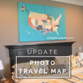 Photo Travel Map Update - the perfect souvenir of your travels | mybigfathappylife.com