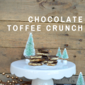 Chocolate Toffee Crunch - a perfect holiday treat #HolidayRemix #NestleTollhouse #ad #BakeSomeonesDay | mybigfathappylife.com