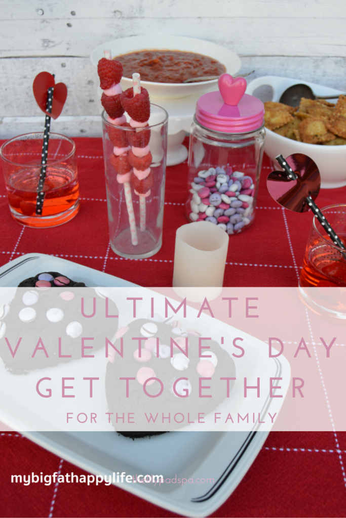 Ultimate Valentine's Day Get Together for the Whole Family #MySweetStory #CG | mybigfathappylife.com