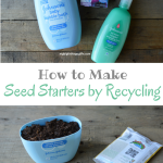 How to Make Seed Starters by Recycling