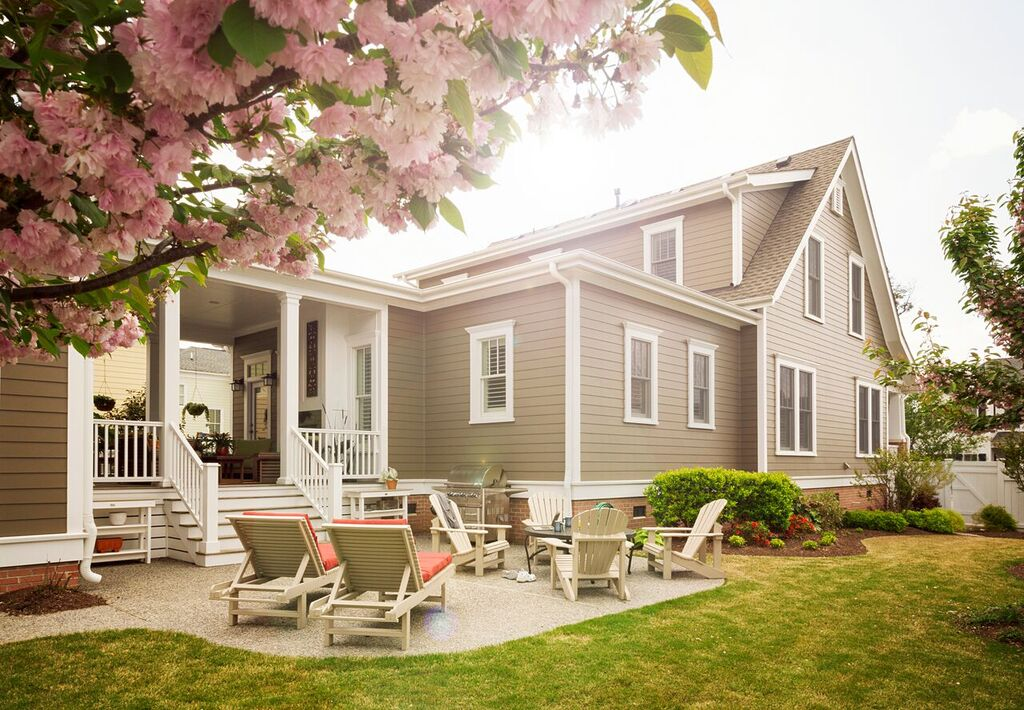 Make old look new again with james hardie building - Best exterior paint for hardiplank siding ...