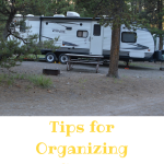 Tips for Organizing a Camper, Part 2