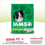 Save Money on IAMS Dog Food at Target