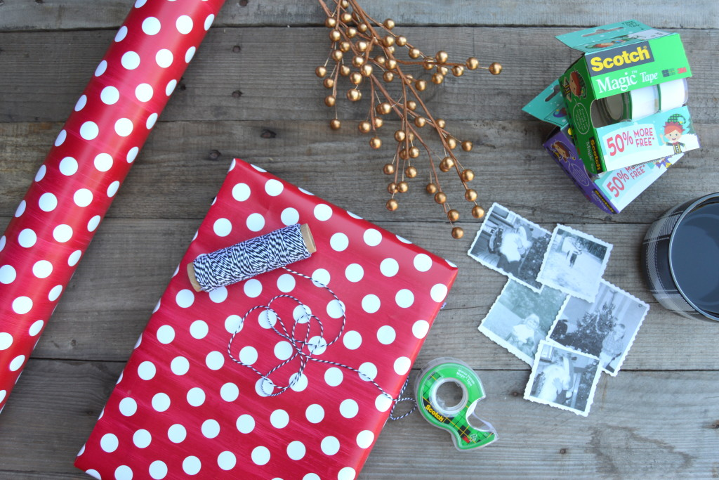 Turn photos into Gift Tags for Your Presents #WrapGiveRepeat (ad) | mybigfathappylife.com