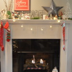 Christmas Mantel on Wayfair