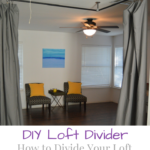 How to Divide Your Loft With Curtains