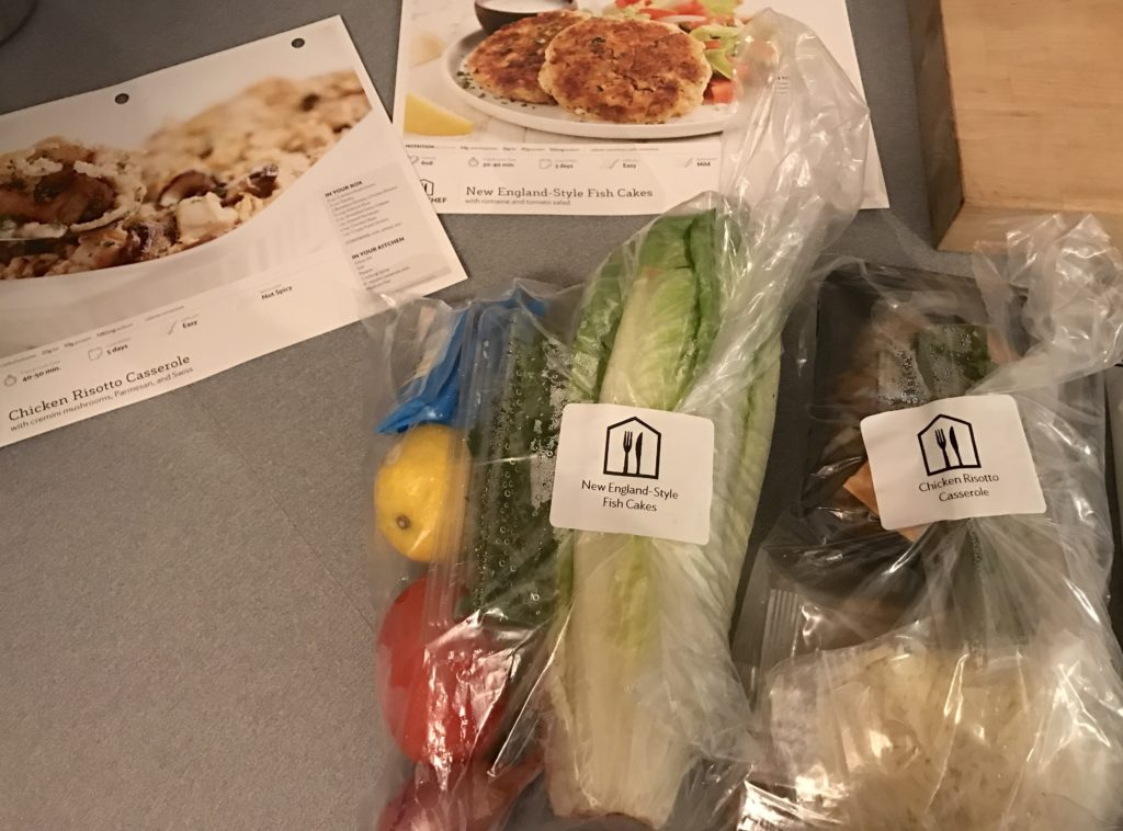 What's for Dinner? Home Chef delivers perfectly portioned ingredients and easy-to-follow recipes directly to your door #ad | mybigfathappylife.com