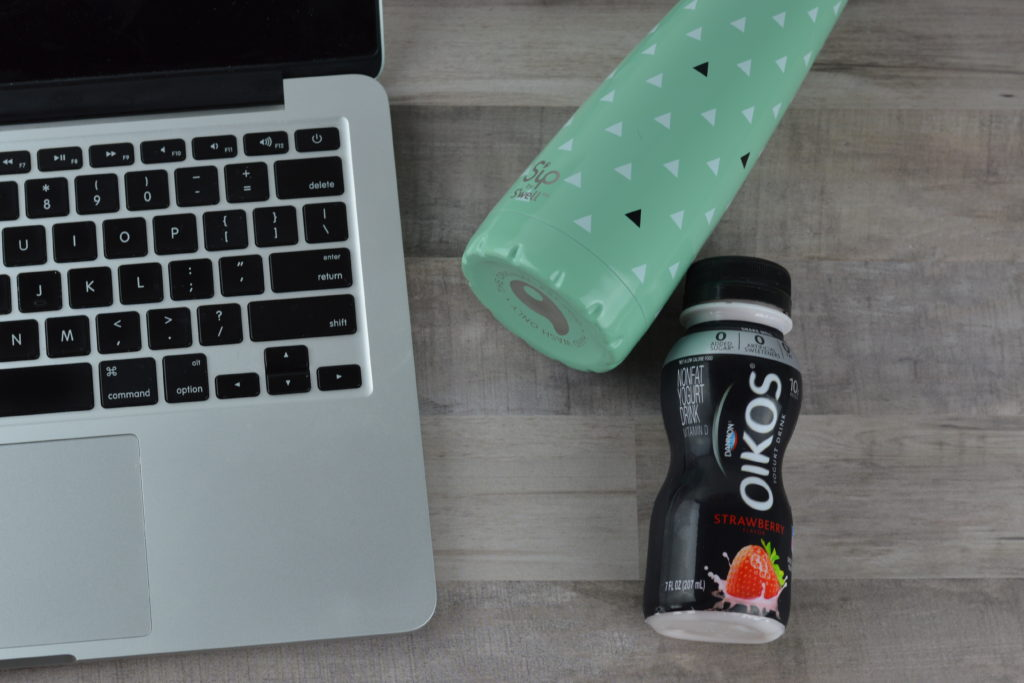 4 Ways to Stay Healthy Throughout Your Day #DannonatWM #ad | mybigfathappylife.com