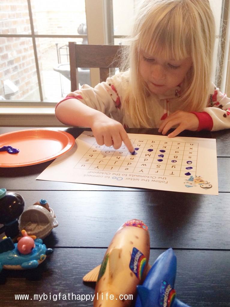 Early Learning: Letter O | mybigfathappylife.com