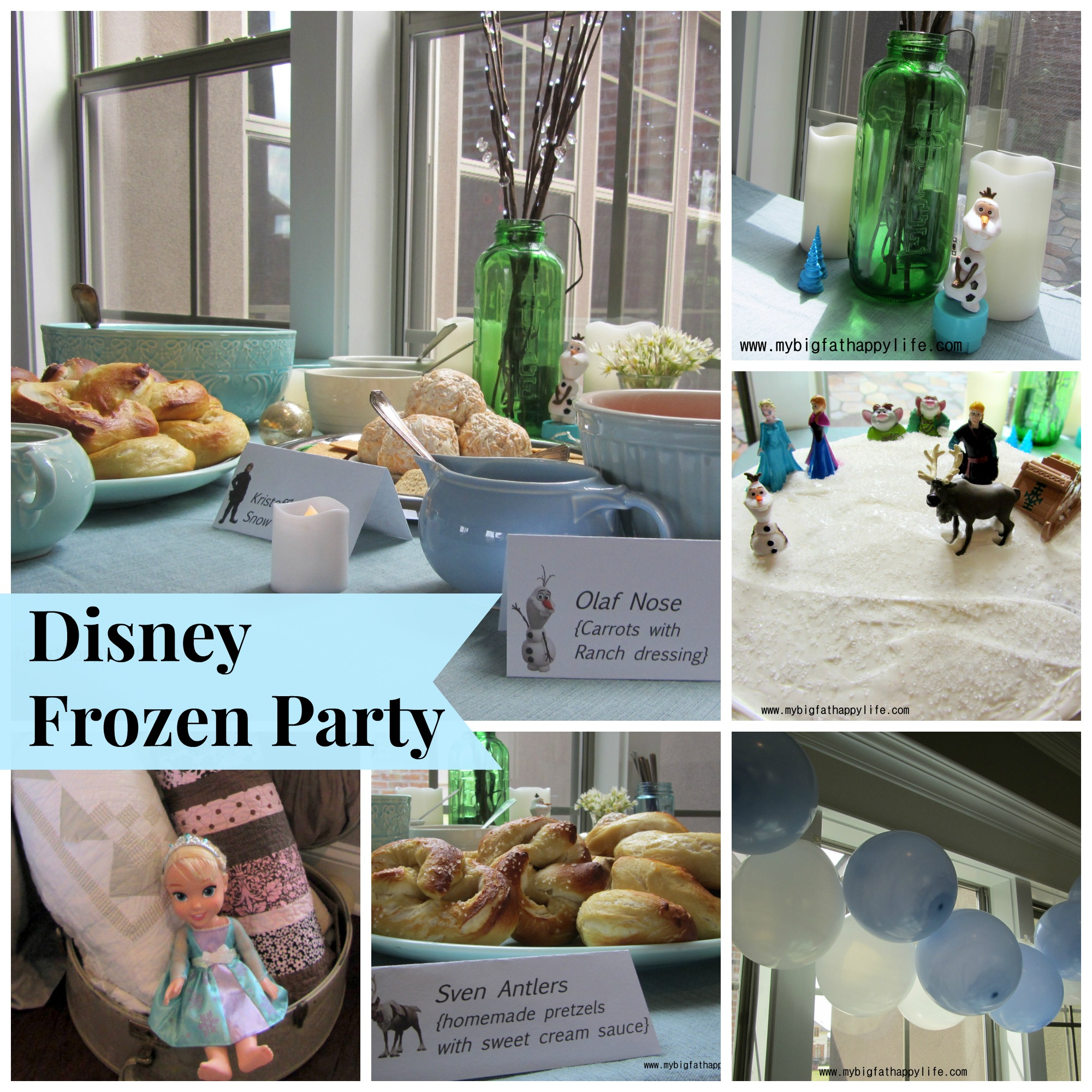 Disney Frozen Party   mybigfathappylife.com
