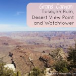 Exploring the Grand Canyon Part 3 – Tusayan Ruin, Desert View Point and Watchtower