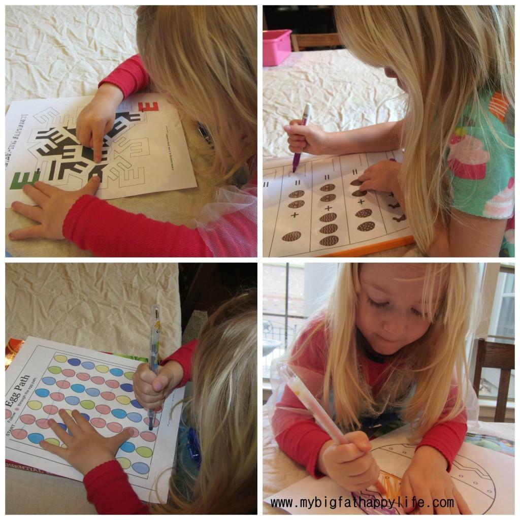 Preschool/Early Learning: Letter E | mybigfathappylife.com