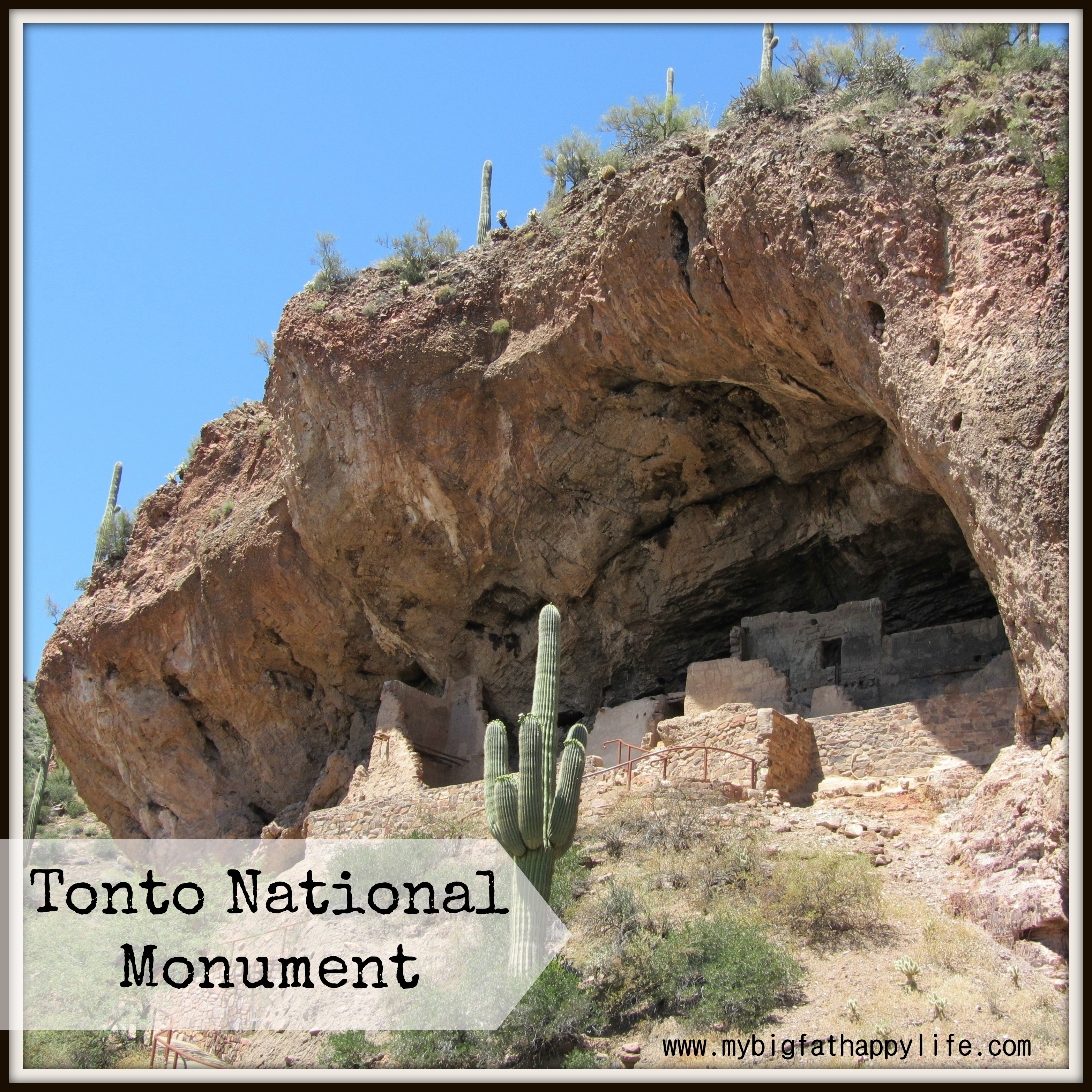 Exploring Tonto National Monument Cliff Dwellings In
