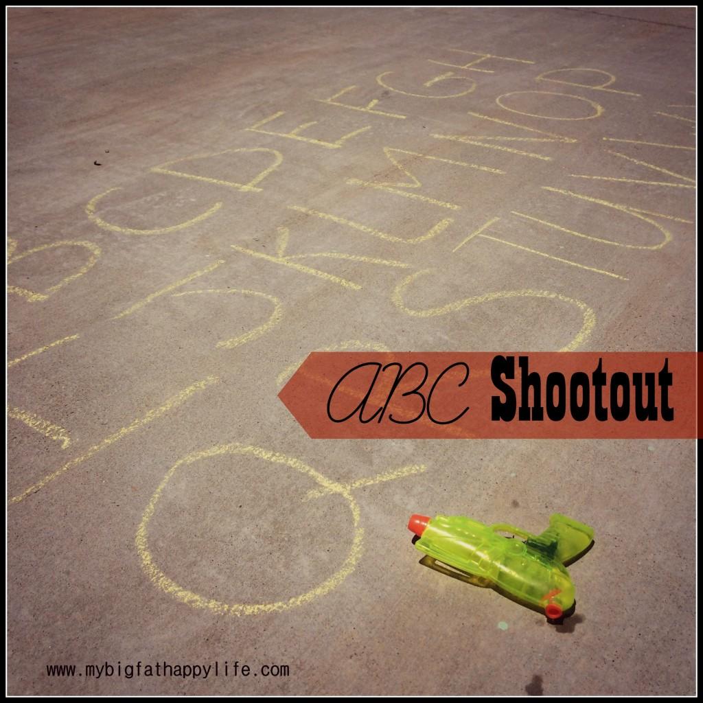 ABC Shootout #playmatters #prek | mybigfathappylife.com