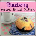 Blueberry Banana Bread Muffins #blueberry #recipe | mybigfathappylife.com