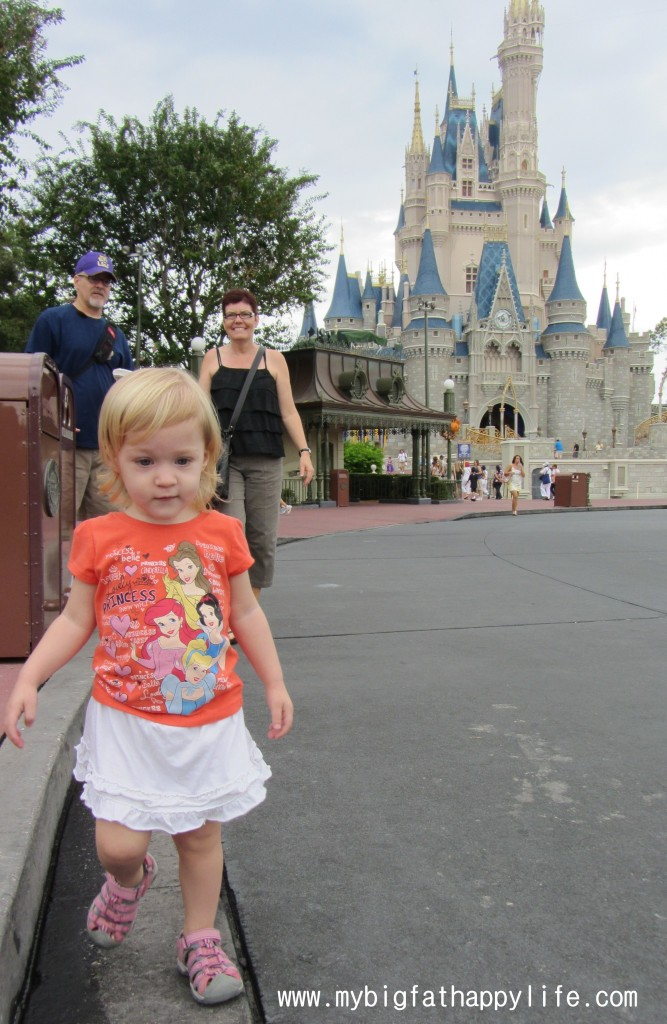 5 Tips for Taking Young Children to Disney World #WaltDisneyWorld #DisneyWorld #MagicKingdom | mybigfathappylife.com