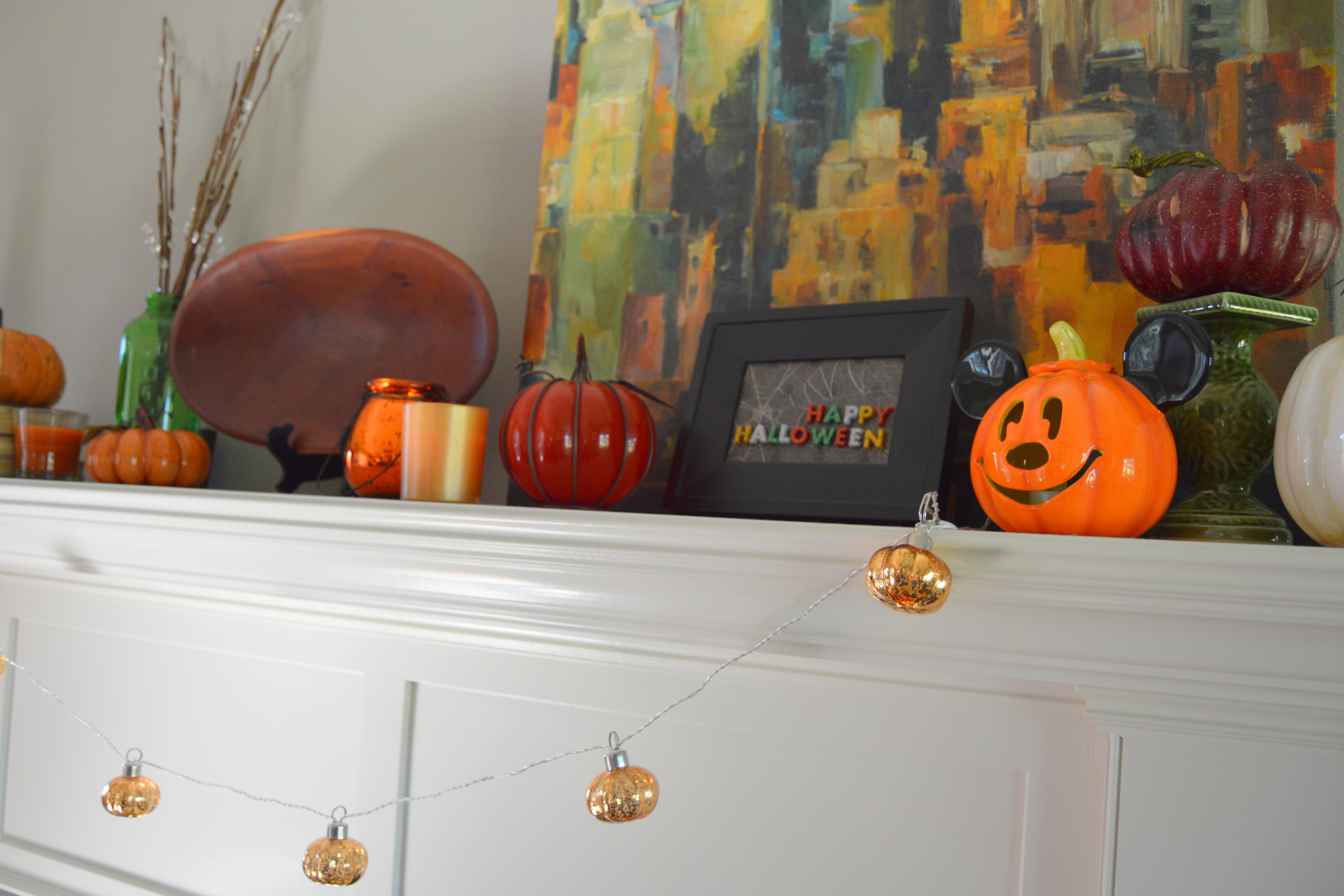 mod podge halloween crafts - my big fat happy life
