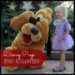 Disney Prep: Disney Autograph Book