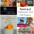 Round up of Halloween and Fall Projects #fall #halloween #recipes #travel #decor