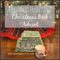 Christmas Book Advent #christmas #advent | mybigfathappylife.com