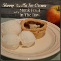Skinny Vanilla Ice Cream with Monk Fruit In The Raw #dessert #recipe #momsmeet | mybigfathappylife.com