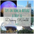 Tips on How to Afford a Trip to Disney World | mybigfathappylife.com