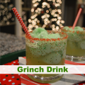 Grinch Drink #Christmas | mybigfathappylife.com