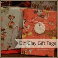 DIY Clay Gift Tags #Christmas #giftwrap #diy #presents | mybigfathappylife.com