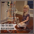 K'NEX® Star Shooter Roller Coaster #ChosenByKids Review #Christmas | mybigfathappylife.com