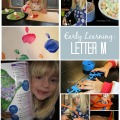 Early Learning: Letter M #preschool #homeschool #science #artsandcrafts | mybigfathappylife.com