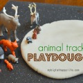 Animal Tracks Playdough #kidactivity #imaginativeplay | mybigfathappylife.com