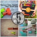 5 Ways to Play with Chalk - Kids Activities | mybigfathappylife.com