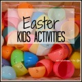 Easter Kids Activities | mybigfathappylife.com