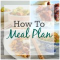 How to Meal Plan; Meal Planning | mybigfathappylife.com