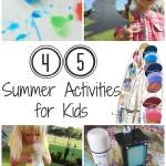45 Summer Activities for Kids