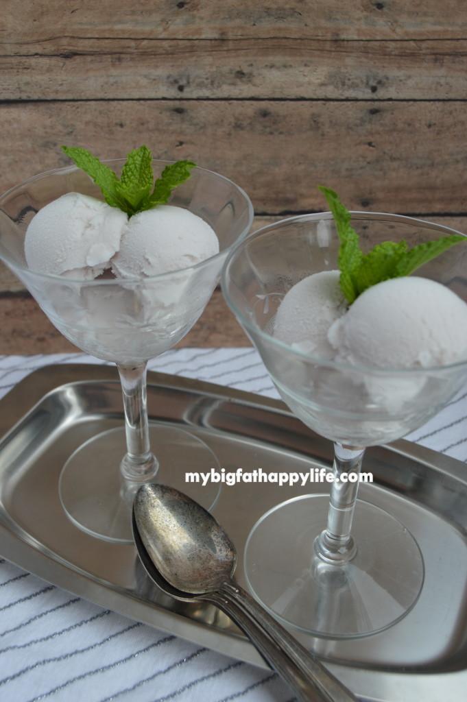Wine Ice Cream - the perfect dessert   mybigfathappylife.com