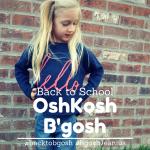 Back to School with OshKoshB'gosh + Coupon