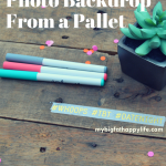 How to Make a Photo Backdrop From a Pallet