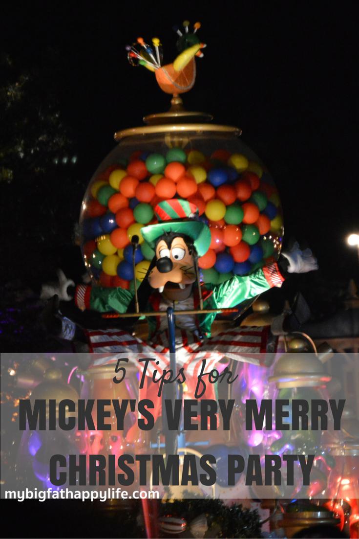 tips for attending mickeys very merry christmas party at magic kingdom disney world mybigfathappylife - Disney Christmas Party 2015