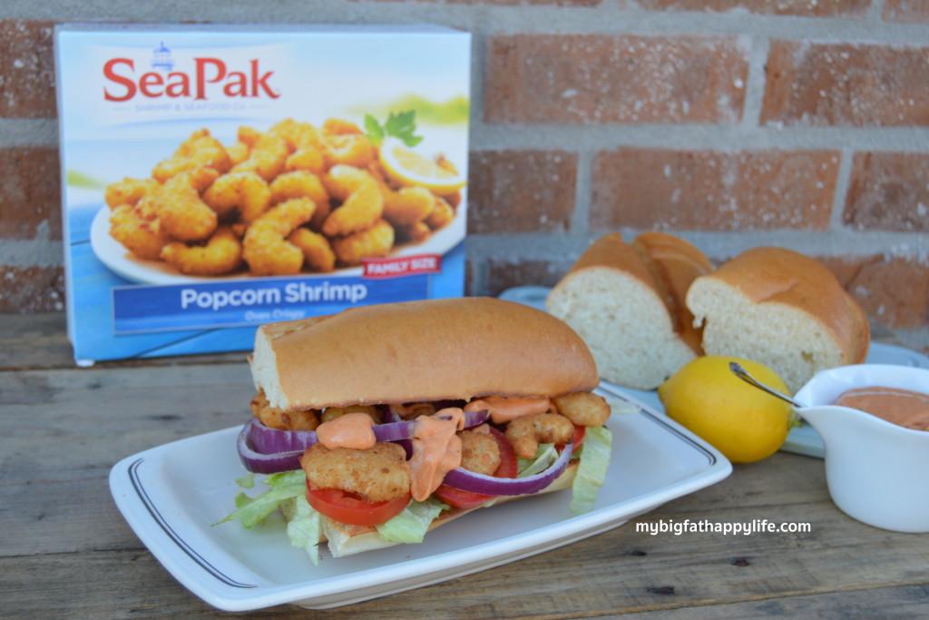 Shrimp Po-Boy with Remoulade Sauce - My Big Fat Happy Life