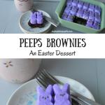 Peeps Brownies + Giveaway